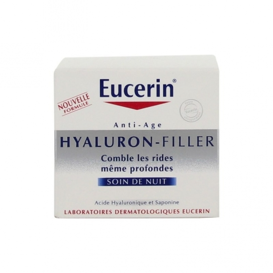 Eucerin Hyaluron Filler Anti-âge Soin de Nuit 50ml