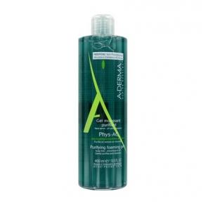A-derma Phys-AC gel moussant purifiant 400ml