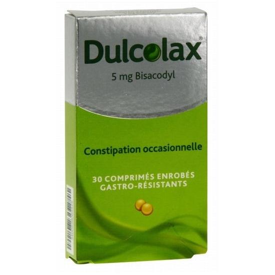Dulcolax 5 mg 30 comprimés
