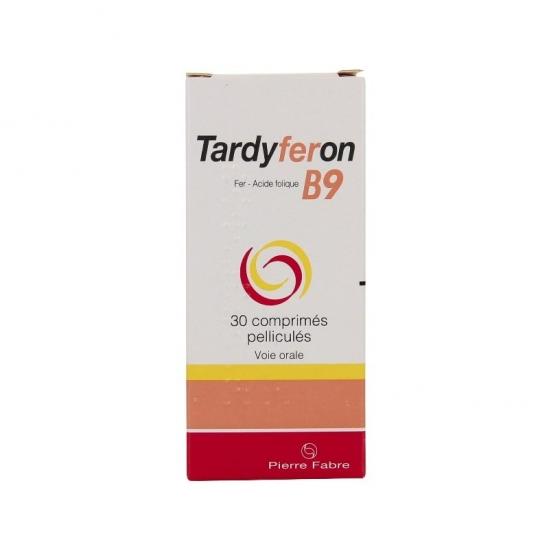Tardyferon B9 30 Comprimés Pelliculés