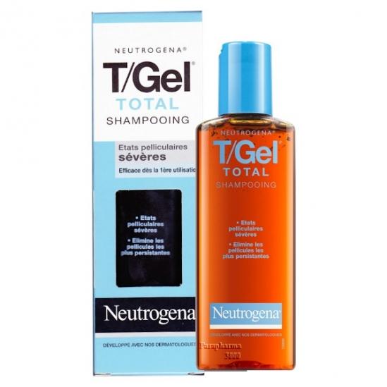 Neutrogena T Gel Total Shampooing Antipelliculaire 125ml