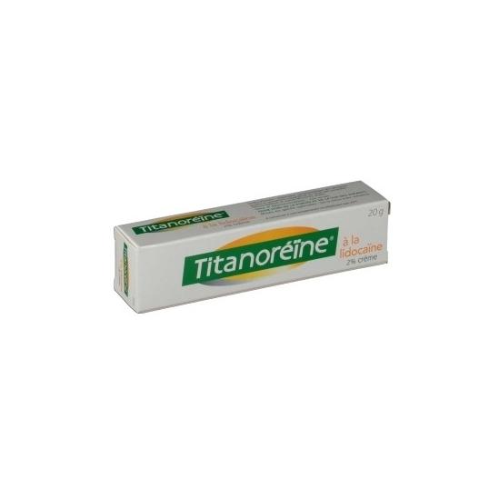 Titanoréïne à la lidocaïne 20g