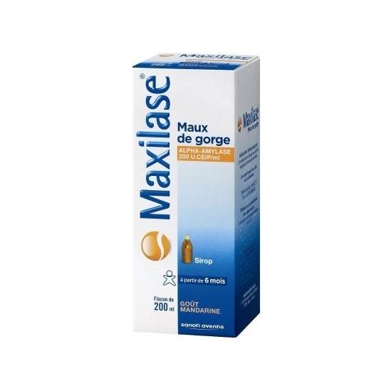 Maxilase sirop 200ml