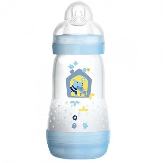 Mam Biberon Anti-Colique Bleu 0-6 Mois 260 ml