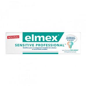 Elmex® dentifrice sensitive professional blancheur 75ml