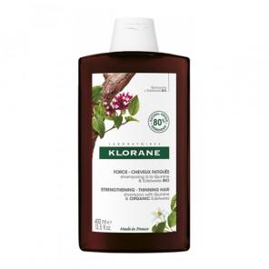Klorane shampooing quinine force-cheveux fatigués 400ml